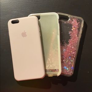 original apple iphone 6s plus tech21 lavender case